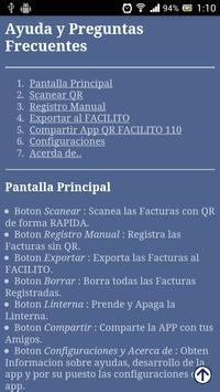 QR Facilito 110 - Facturas screenshot 22
