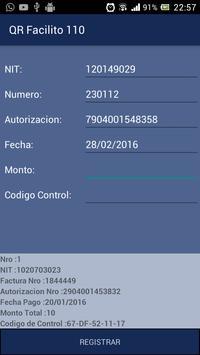 QR Facilito 110 - Facturas screenshot 3