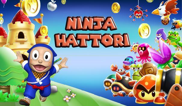 Ninja Hatori Jungle Running poster