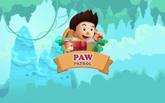 Paw Ryder Patrol poster