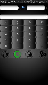 Calculatrice Euros/Francs screenshot 2