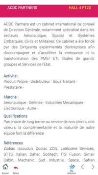 French Aerospace Suppliers Bourget 2017 apk screenshot