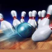 Bowling video icon