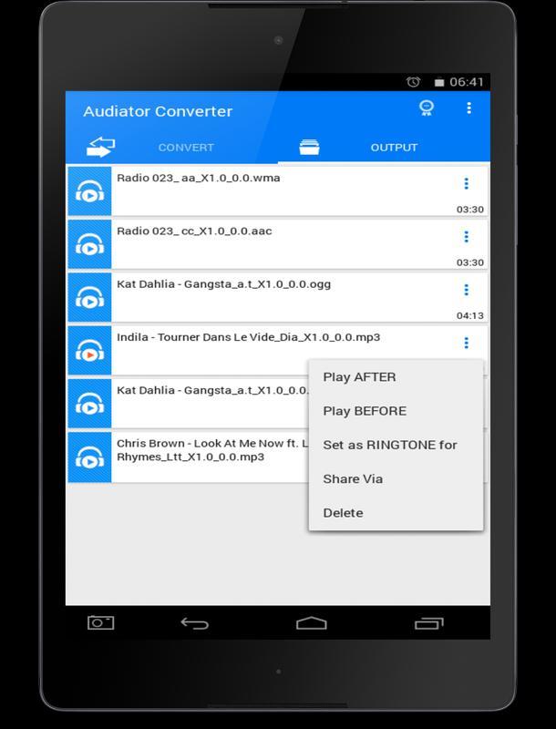 All Video Mp3 Audio Converter Screenshot 14