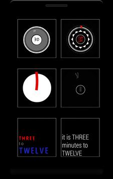 Box - 12 clock komponents KLWP poster