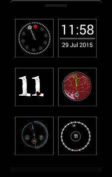 Box - 12 clock komponents KLWP apk screenshot
