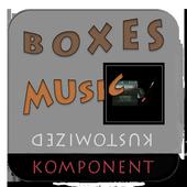 Box - 12 music komponents KLWP icon