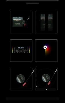 Box - 12 music komponents KLWP apk screenshot