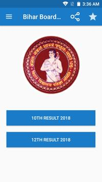 Bihar Board 10th & 12th Result 2018 poster