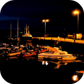 Boats At The Pier Video LWP icon