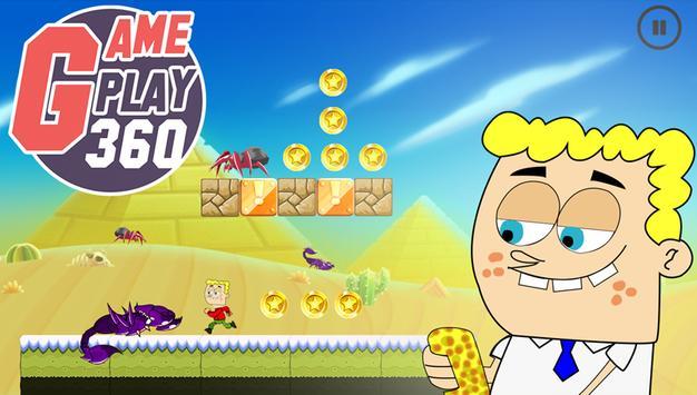 Bob Collect Sponge And Gold apk screenshot