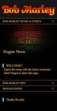 Bob Marley Reggae Songs poster