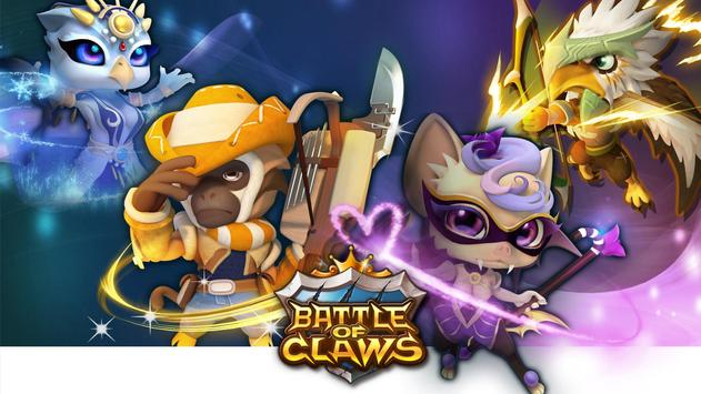 Battle of Claws poster