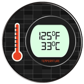 Fever Thermometer Temp. Prank icon