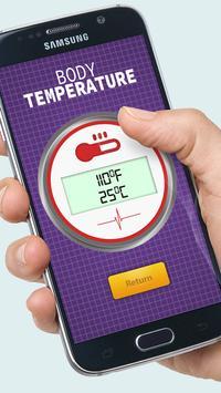 Body Temperature Fever Prank screenshot 3