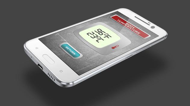 Body Temp. Thermometer Prank screenshot 6
