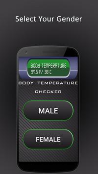 Body Fever Thermometer Temperature Checker poster