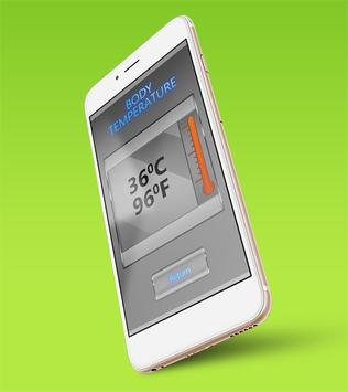 Body Temperature Checker Prank apk screenshot