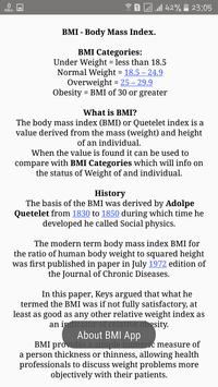 Body Mass Index - BMI screenshot 4