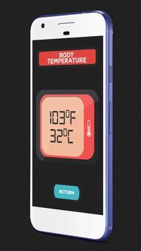 Thermometer Body Temp. Prank screenshot 5