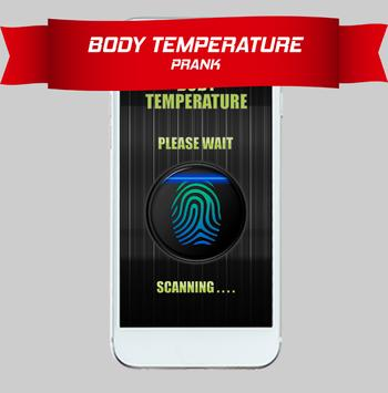 😷Body Temperature Check Prank screenshot 1