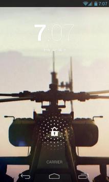 Boeing Apache Helicopter LWP apk screenshot