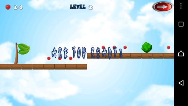 Red ball flay apk screenshot
