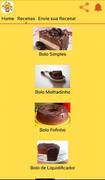 Receitas de Bolo de Chocolate screenshot 1