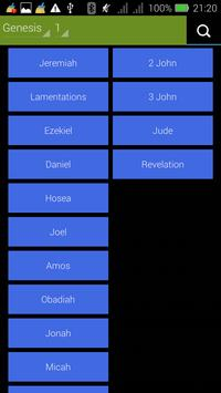 Evangelical Christian Bible screenshot 1