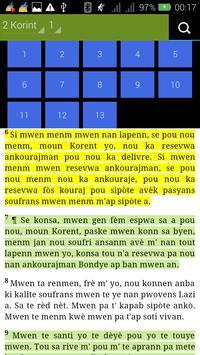 Haiti Creole Bible apk screenshot