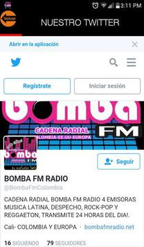 Bomba Fm Cali screenshot 3