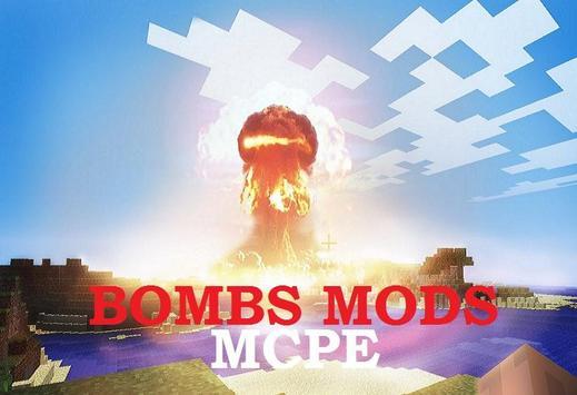 Bombs Minecraft Mod poster