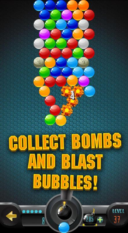 Bubble Bombs Bubble Shooter Descarga Apk Gratis Casual Juego