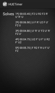 hueTimer - Speedcubing Timer screenshot 2