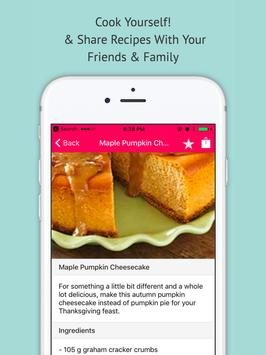 Cheesecake Recipes - Offline Cake Recipes apk screenshot