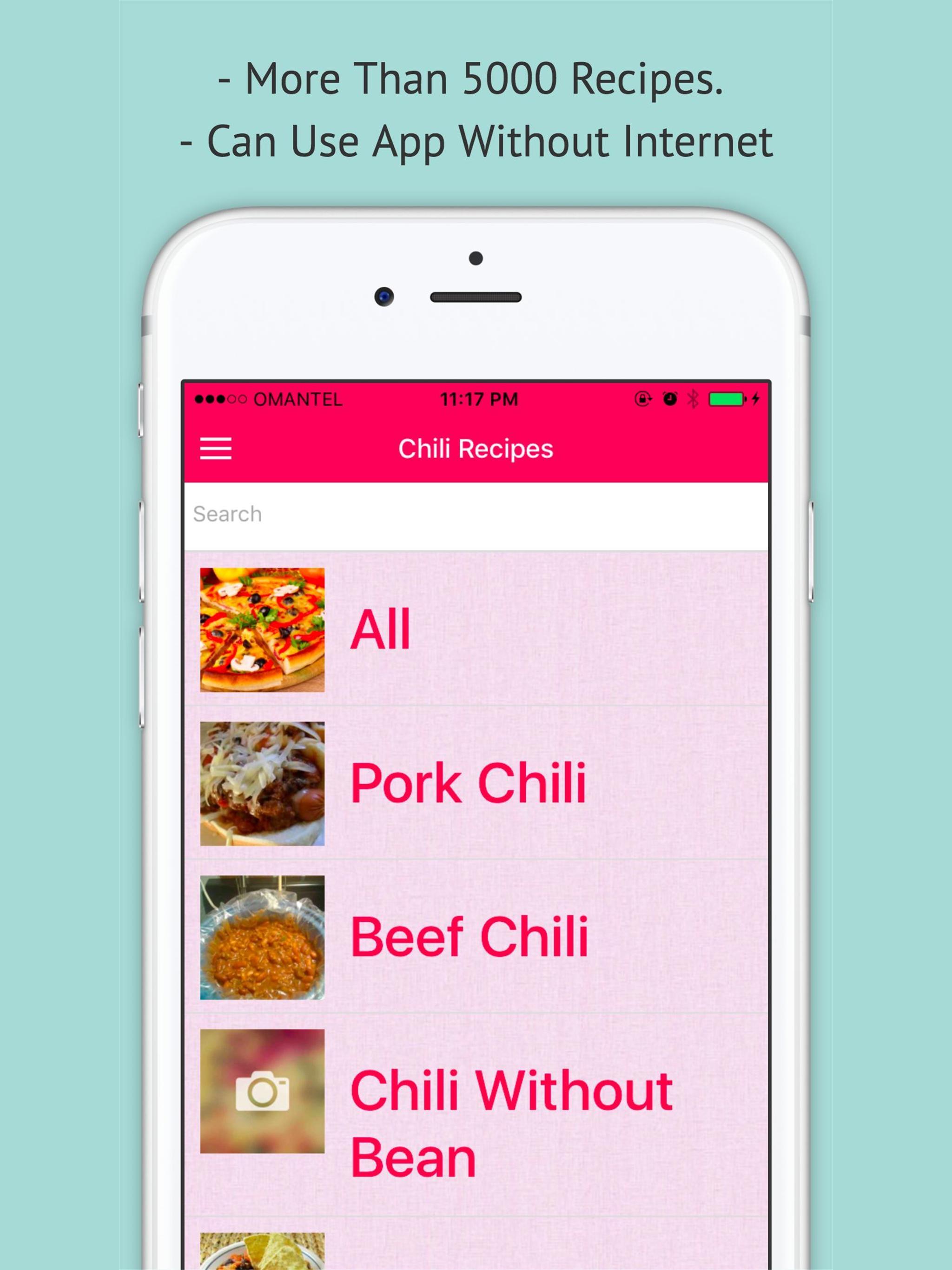 Chili Recipe — Offline Recipe for Chili 3