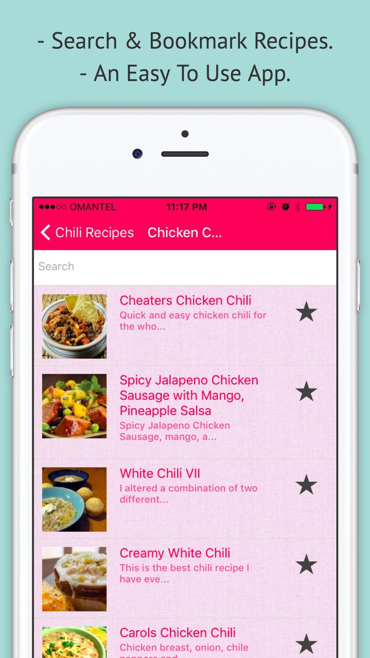 Chili Recipe — Offline Recipe for Chili 2