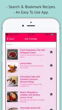 Dessert Recipes screenshot 1