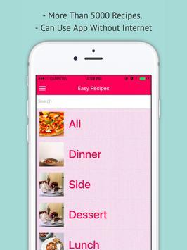 Easy Recipes - Offline Simple Easy Recipes screenshot 3