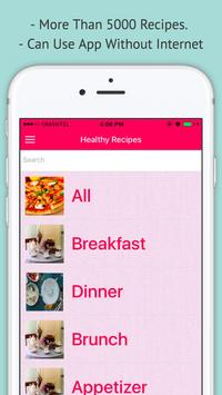 Healthy Recipes - Offline Best Healthy Recipes poster