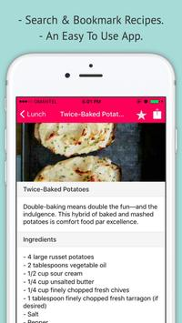 Potato Recipes - Offline Easy Potato Recipes screenshot 1
