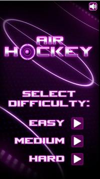 Glow Air Hockey: Classic poster