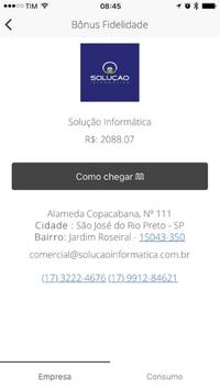 Bônus Fidelidade. screenshot 3