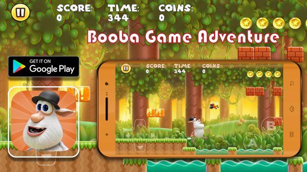 Booba Game Adventure apk screenshot