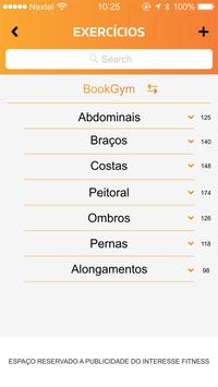 BookGym apk screenshot