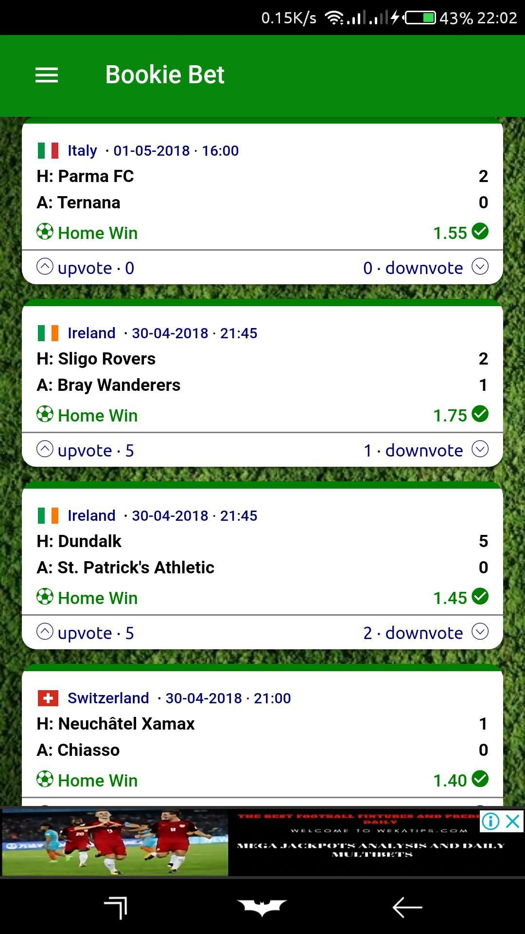 Bookies betting tips disadvantages of betting online
