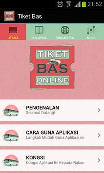 Tiket Bas Online poster
