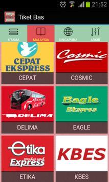 Tiket Bas Online screenshot 1