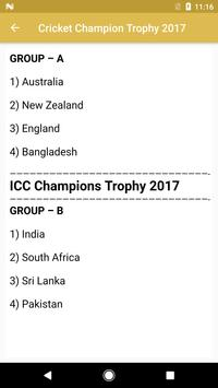 Cricket Champion Trophy 2017 poster