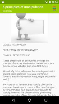 The 6 Principles of Manipulation apk screenshot